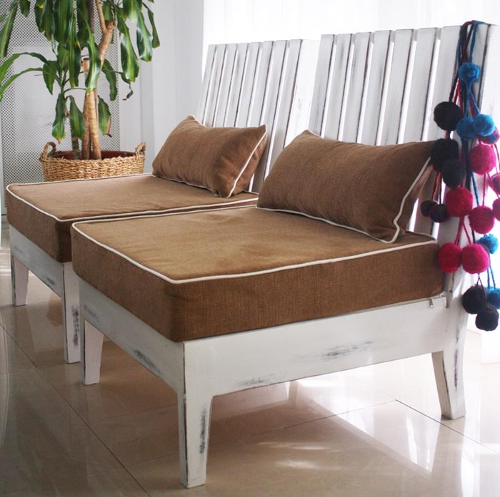 83 best sillones images on pinterest couches armchairs for Almohadones para sillones