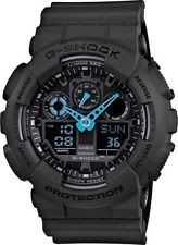 Crazy Week Deal New G-Shock GA100C-8A Neon Blue Hand Ana-Digi Men's Watch