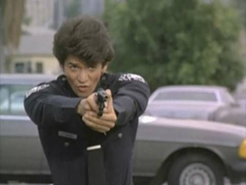 TJ Hooker: Shirtless Adrian Zmed -