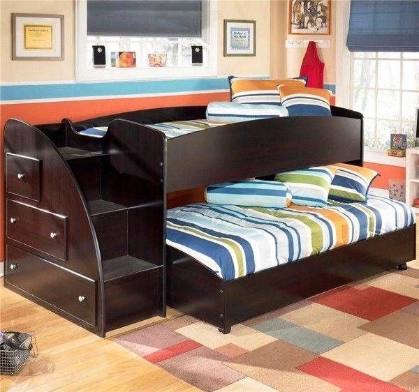 Enfants modernes lits superposés Détails