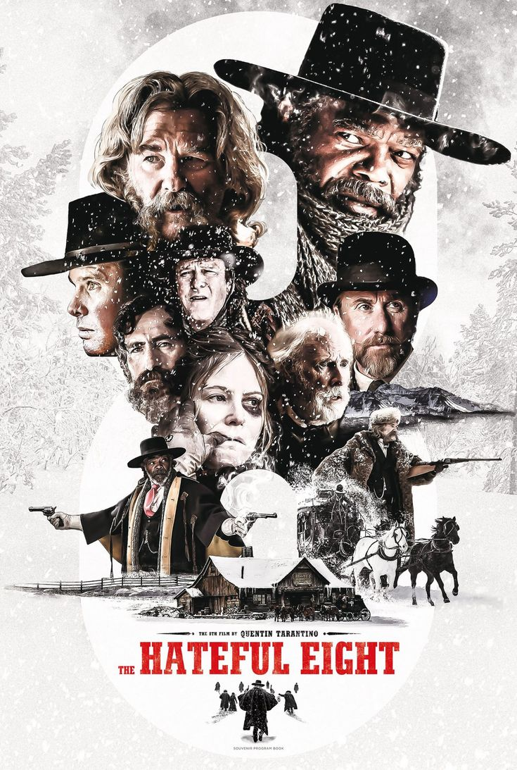 A Brochure for Quentin Tarantino's The Hateful Eight.