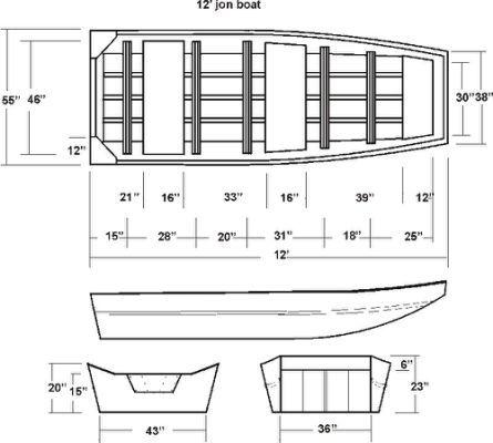 PDF Wood Jon Boat Plans model barrel   Homemade boat   Pinterest