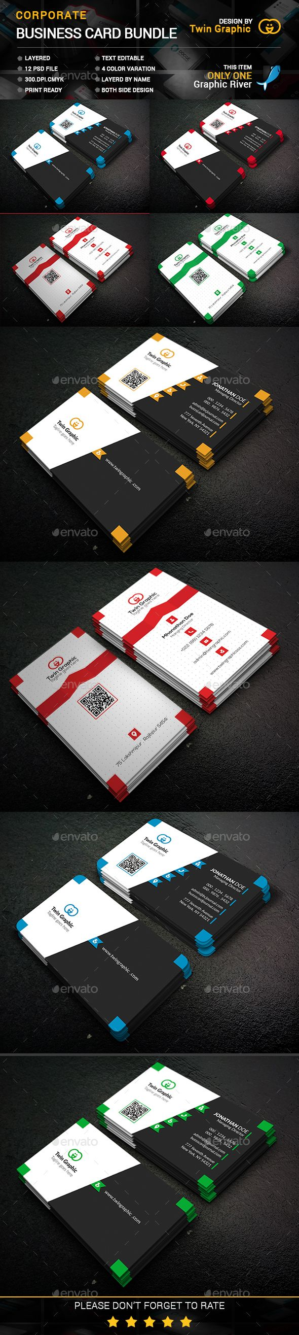 1145 best business card images on pinterest business cards name croportae business card bundle reheart Choice Image