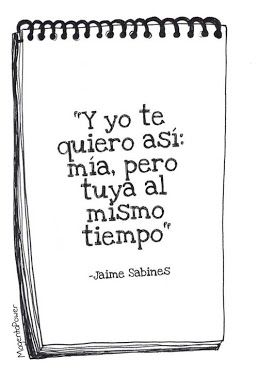 Yo te quiero así...