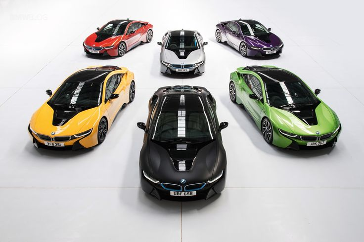 BMW offers Individual Colors for the i8 hybrid sportscar - http://www.bmwblog.com/2016/05/23/bmw-offers-individual-colors-i8-hybrid-sportscar/