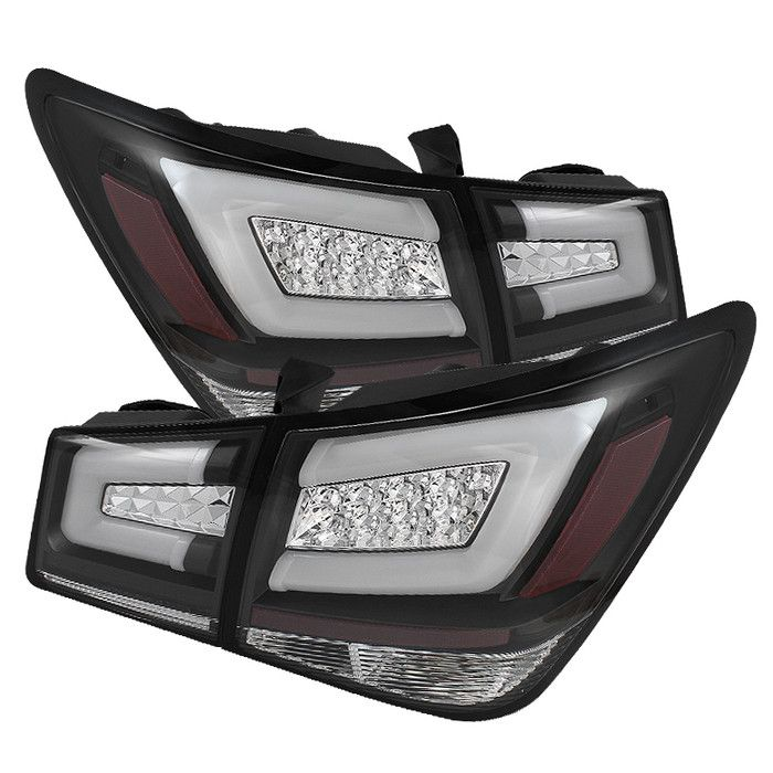 ( Spyder ) Chevy Cruze 2011-2015 Cruze Limited 2016 Light Bar LED Tail Lights - Black  http://www.justleds.co.za