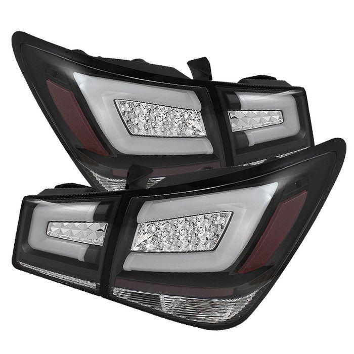 ( Spyder ) Chevy Cruze 2011-2015 Cruze Limited 2016 Light Bar LED Tail Lights - Black