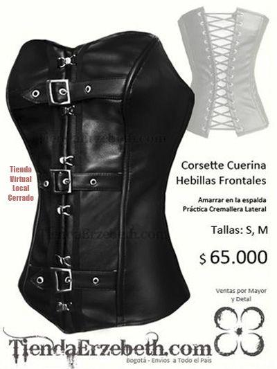 corsets bogota cuerina hebillas amarrar cordon espalda envios medellin cali pereira tunja pasto bucarmanga