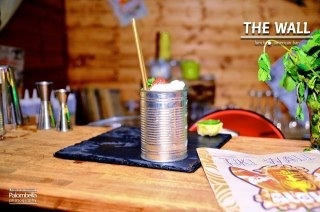 Our special Tiki #drink #pisa #tuscany #leaningtower thewall Pisa cocktail bar.