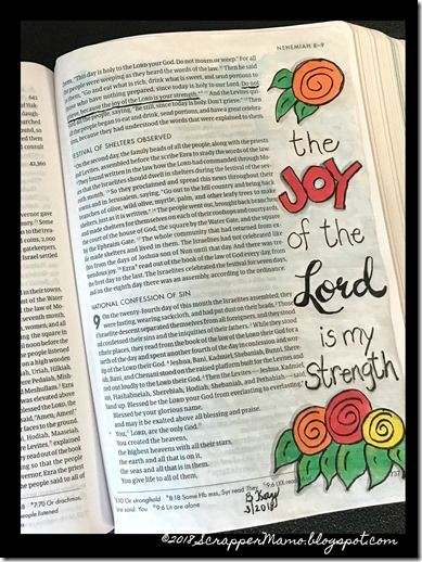 Bible Art Neh 8-10 Joy of the Lord_1