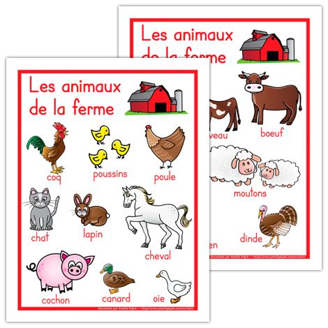 Fabuleux 122 best FSL: Animals images on Pinterest | French language  RM17