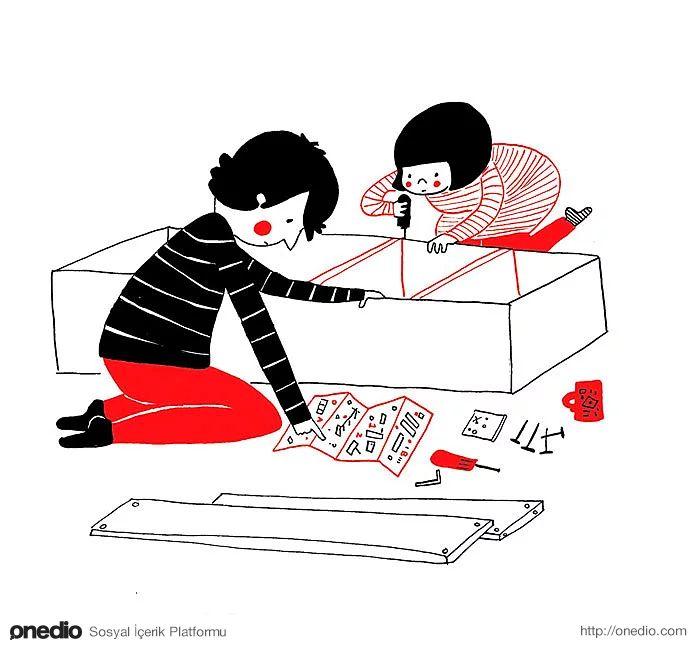 Aldığınız mobilyaları kurmak eğlenceli bir lego oyununa dönüşür.