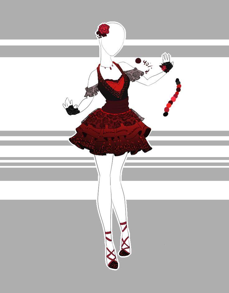 .::Outfit Adoptable 43(OPEN)::. by Scarlett-Knight.deviantart.com on @DeviantArt