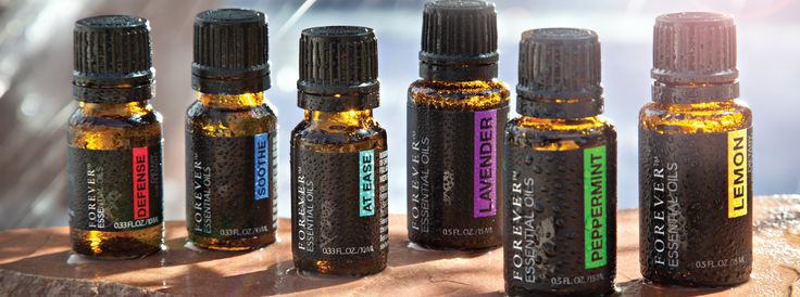 Forever Essential Oils single notes and blends