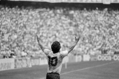 "adreciclarte: ""Diego Maradona by John Vink, Mexico World Cup, 1986 """