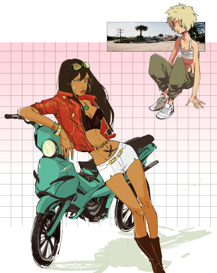 Michiko and Hatchin  Yuck // conmieser on tumblr