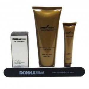 NAIL KIT:  $99.95:  http://www.donnabella24k.com/product/24k-donna-bella-deluxe-nail-kit/  Bring radiance to your nails while promoting stronger, healthier growth with our Nail Kit #beauty #cosmetics #nailcare #health #donna #bella #24