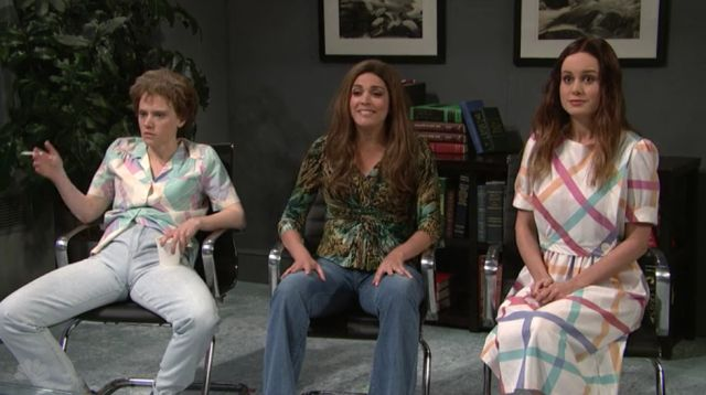 Kate McKinnon Deserves an Award for This SNL Skit with Brie Larson