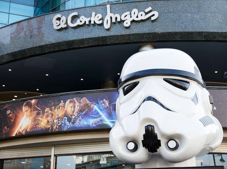 #StarWars #Stormtrooper #ElCorteInglés