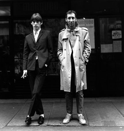 Paul Weller & Pete Townshend, London 1980. S)