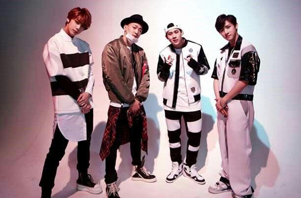 Hyungwon, Shownu, Jooheon, I.M
