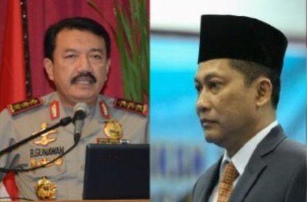 Kandidat Kapolri, Komjen Buwas dan Komjen Budi Gunawan