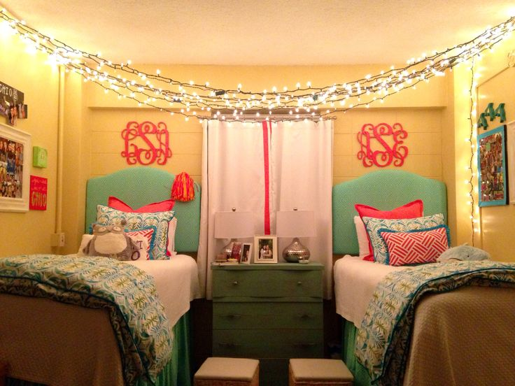 Ole miss dorm room dorm pinterest cute dorm rooms for Cute dorm bathroom ideas