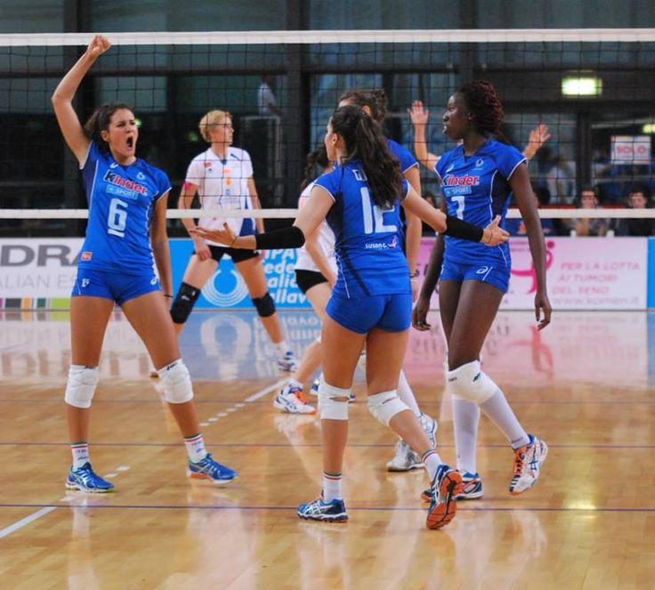 Volley serie A: Club Italia oggi a Albese con Cassano - Basket e Volley in rete