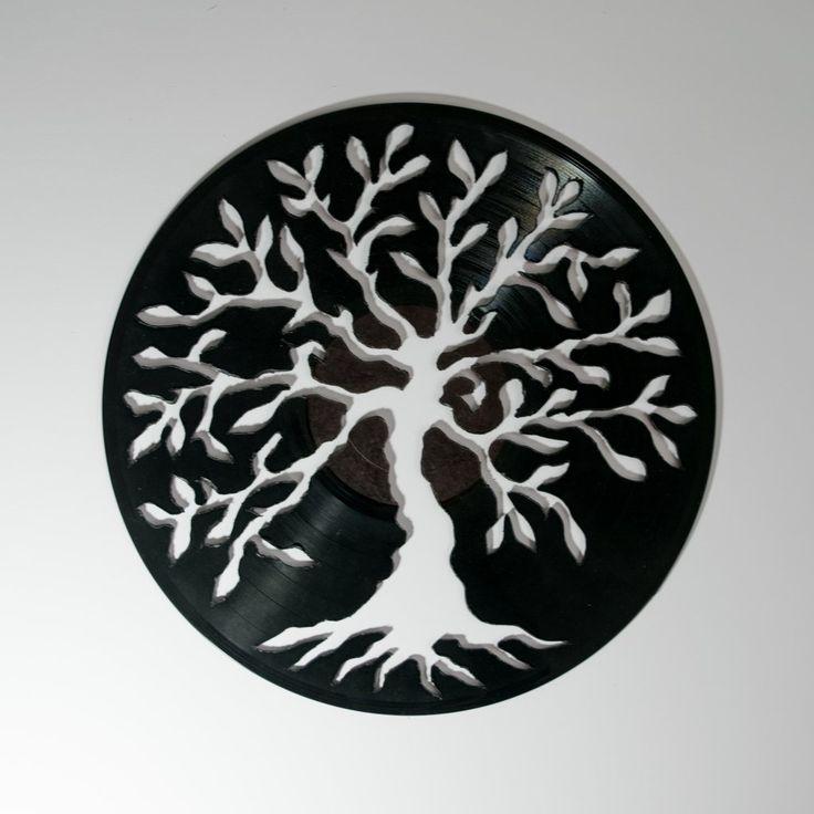 Tree Silhouette Vinyl Wall Decoration