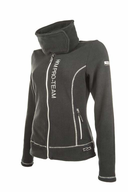 Gorgeous HKM Pro-Team Kufstein Fleece Jacket, perfect for chilly summer evenings and cold winter nights! See more on our website www.lofthouse-equestrian.co.uk