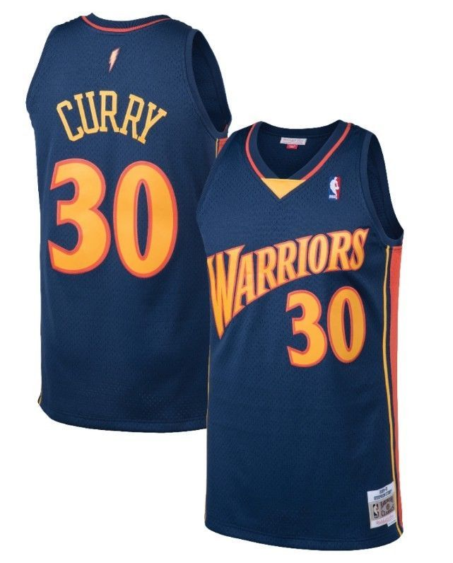 premium selection 8f1a5 5e716 Stephen Curry #30 Golden State Warriors Mitchell & Ness Mesh ...