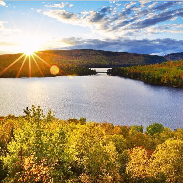 Hotel Sacacomie in Quebec, Canada is situated between Montreal and Québec City. Located in the heart of the forest near the Mastigouche wildlife sanctuary. The hotel overlooks the majestic Sacacomie Lake and its 42 km coastline. (Photo by Jeff Bartlett, adventurefreelancer.com)