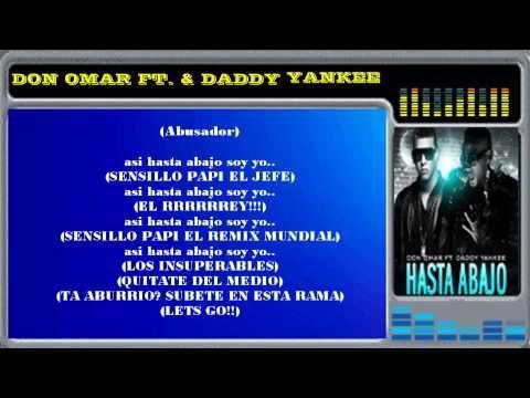 Don Omar Y Daddy Yankee-Hasta Abajo