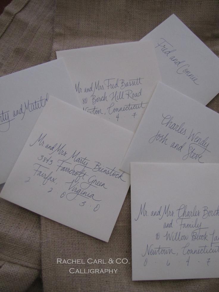 Custom written paper handwritten letters