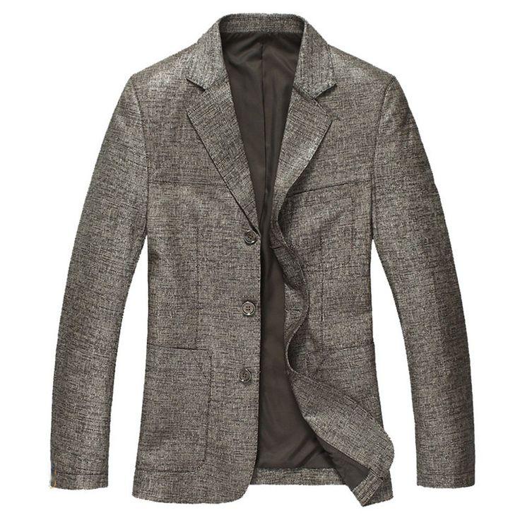 Cwmalls Mens Leather Blazer Jacket CW814132 pinmania