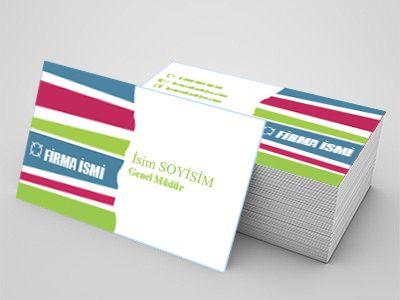 Tekstil sektörüne özel kartvizit örnekleri