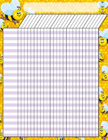 47 best Ednau0027s printables images on Pinterest School, Attendance - free printable attendance chart