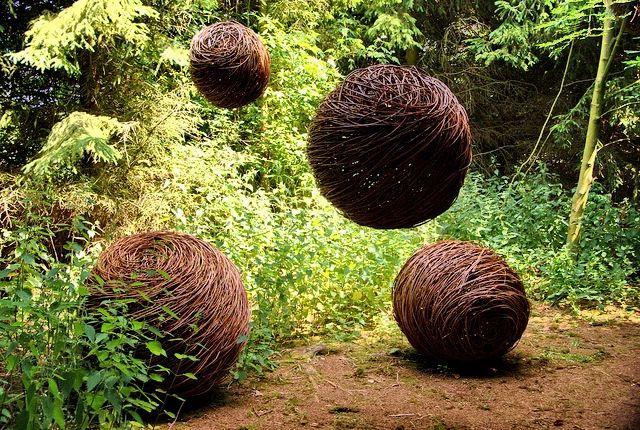 Živé stavby z vrby - vrbové stavby - Proutěné ploty a rohože na plot | Inspirativní galerie