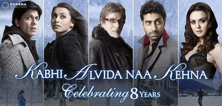 'Never say good bye!'  Celebrating 8 years of Kabhi Alvida Naa Kehna! pic.twitter.com/H3lpSsphl4