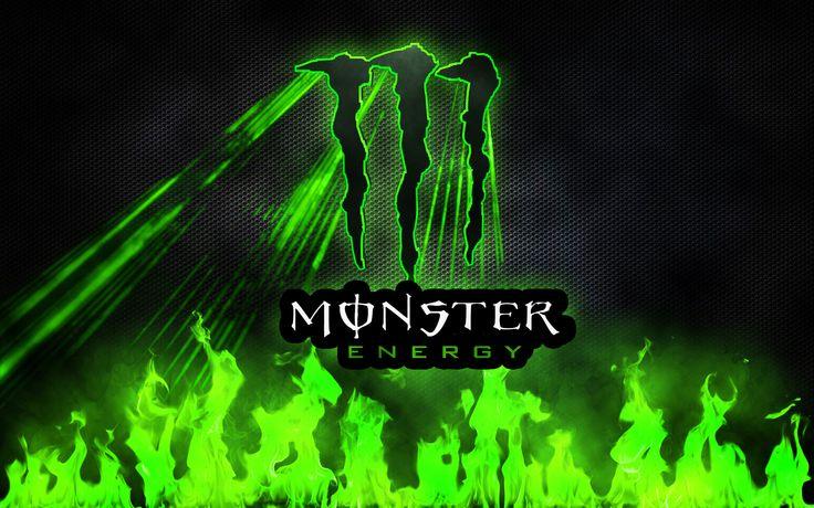 Red Monster Energy Drink Logo