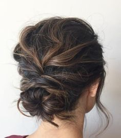 Recommended hairstyle: ashpettyhair; Wedding hairstyle idea.
