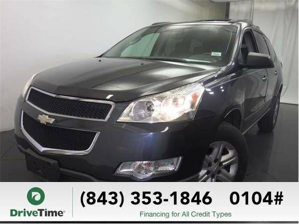 2009 Chevrolet Traverse SUV LS (Cyber Gray Metallic) (Chevrolet_ Traverse_ SUV_)