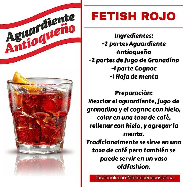 ¡Aguardiente Antioqueño combina con todo! #Aguardiente #Antioqueño #Coctel #Cocktail #Fetish #Rojo