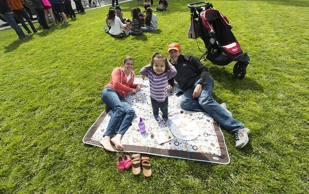 Kids and families love spending their Sunday afternoons at Picnic at the Presidio with Off the Grid!