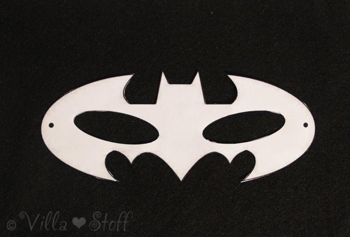 die besten 25 batman maske vorlage ideen auf pinterest batman maske batman zeichen und. Black Bedroom Furniture Sets. Home Design Ideas