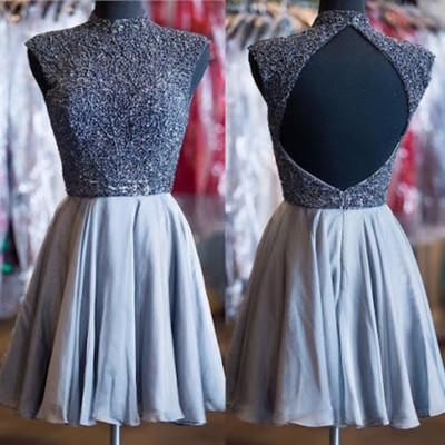Backless Homecoming Dress For Teens