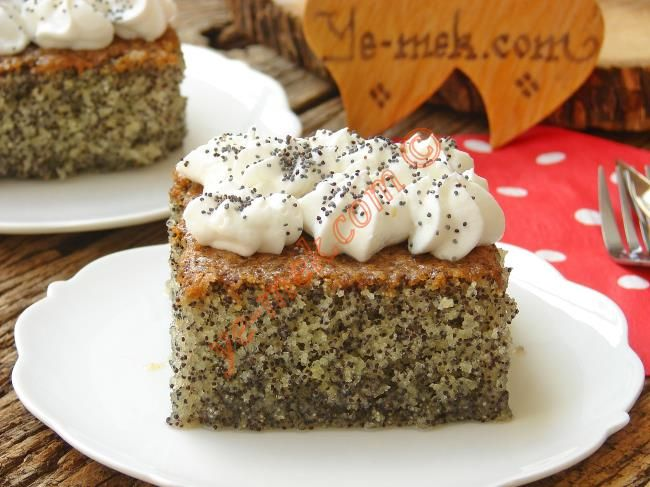 Haşhaşlı Revani Tatlısı Resimli Tarifi - Yemek Tarifleri