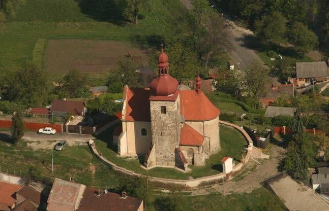 Černčice kostel sv.Vavřince