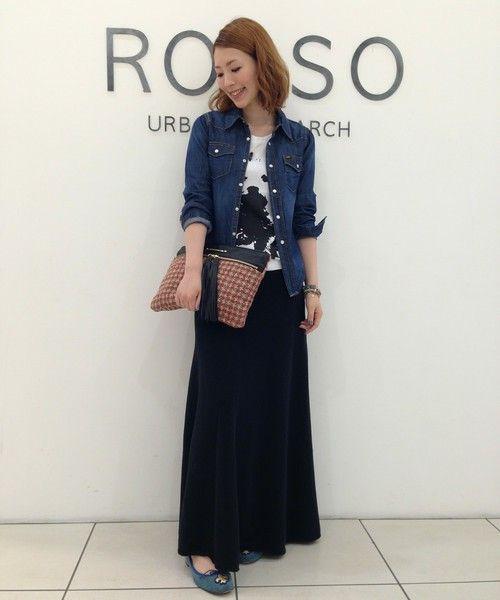 ROSSO 神戸店|Hamaさんのシャツ・ブラウスを使ったコーディネート - ZOZOTOWN