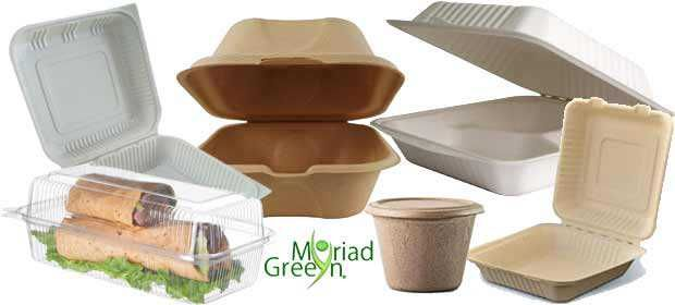 Disposable Food Storage Containers & Packaging - Green Wholesale Biodegradable Food Storage, Containers & Packaging